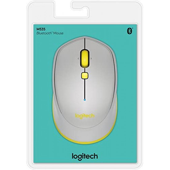 Logitech Bluetooth Mouse M535 Grey
