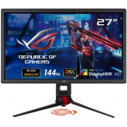 "ASUS ROG Strix XG27UQ 27 ""HDR DSC Gaming Monitor, 4K (3840 x 2160), 144Hz, IPS, 1ms, Adaptive Sync, DisplayHDR 400, DCI-P3 90%, Eye Care, HDMI DisplayPort USB, Aura Sync, BLACK"