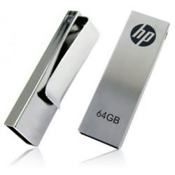 HP v210 64GB Metal Design USB Flash Drive with Clip