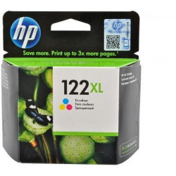 HP 122XL High Yield Tri-color Original Ink Cartridge (CH564HE)