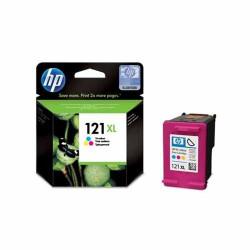 HP 121XL High Yield Tri-color Original Ink Cartridge (CC644HE)