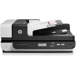 HP Scanjet Enterprise Flow 7500 Flatbed Scanner, White [L2725B]