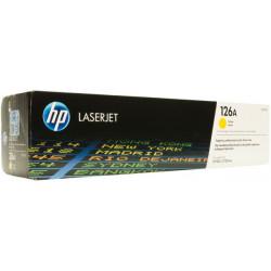 Hp 126a Laserjet Yellow Toner Print Cartridge