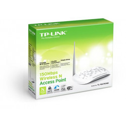 TP-Link 150 Mbps Wireless Access Point, White TL-WA701ND