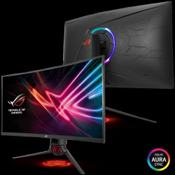 "ASUS ROG Strix XG32VQ 31.5"" Curved WQHD 1440p 144Hz DP HDMI Eye Care FreeSync/Adaptive Sync Gaming Monitor"