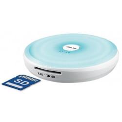Asus Travel air AC 32GB Wireless USB Flash Drive and SD Card Reader, White/Blue - WSD-A1