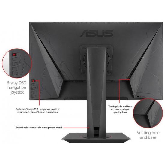 "ASUS MG248QR Gaming Monitor -24"" FHD (1920x1080), 1ms, 144Hz, DisplayWidget, Adaptive-Sync(Free-Sync)"