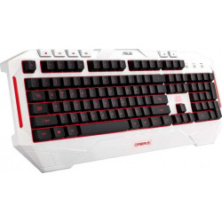 ASUS LED BACKLIT USB GAMING KEYBOARD CERBERUS ARCTIC EDITION