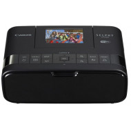 Canon Selphy CP1200 Wireless Compact Photo Printer, Black