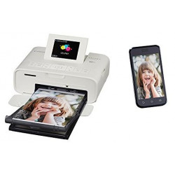 Canon Selphy CP1200 Wireless Compact Photo Printer, White