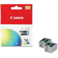 Canon BCI-16 Twinpack Color Ink Cartridges