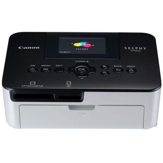 Canon Selphy CP1000 Photo Printer - Black/White