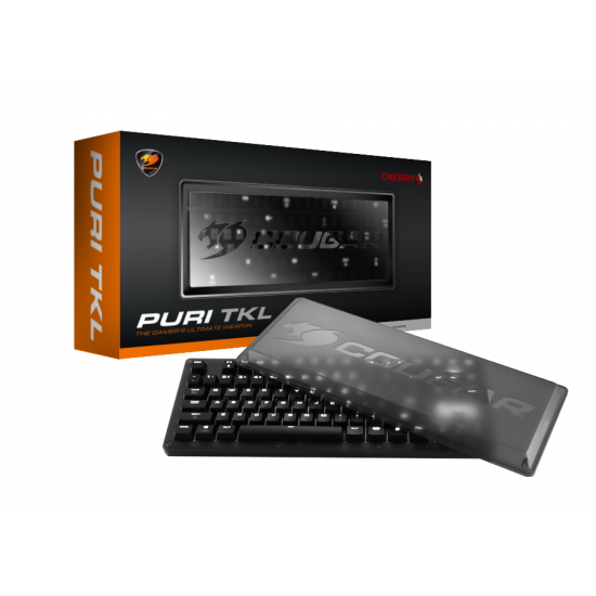 Cougar PURI TKL Cherry MX Mechanical Gaming Keyboard With Dust-Proof Cover