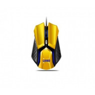 Intex It-Op108 Optical Mouse Black And Yellow