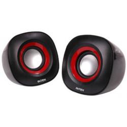 Intex IT-355 2.0 Channel Multimedia Speakers (Black)