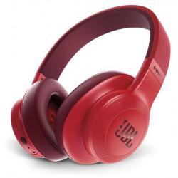 JBL On-Ear Bluetooth Headphones, Black/Red - E55BT