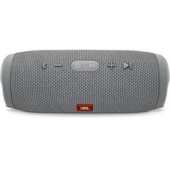 JBL Charge 3 Waterproof Bluetooth Speaker - Grey