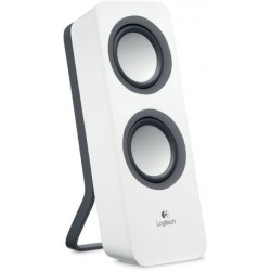 Logitech Z200 Speakers (White)