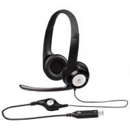 Logitech ClearChat Comfort/USB Headset H390 (Black)