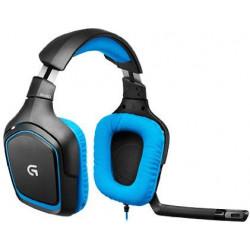Logitech Blue Surround Sound Gaming Headset, G430