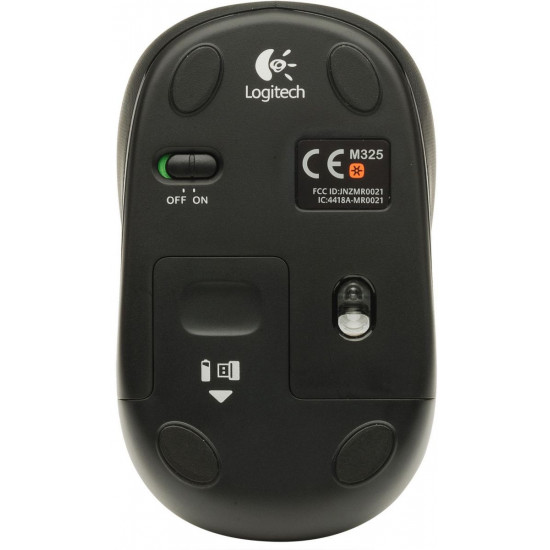 Logitech M325 Wireless Mouse - Blue