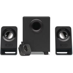 Logitech Compact 2.1 Universal Speaker System - Black