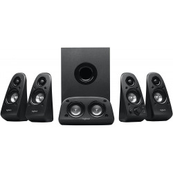 Logitech 5.1 Surround Sound Universal Speakers System - Black - Z506