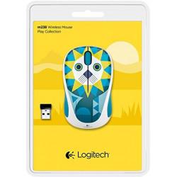 Logitech M238 Play Collection - Lion Wireless Mouse - Multi Color