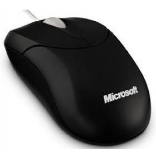Microsoft 500 Wired Notebook Compact Optical USB Mouse