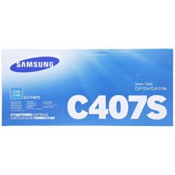 Samsung C407S Cyan Toner Cartridge