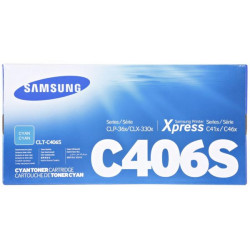 Samsung C406S Cyan Toner Cartridge