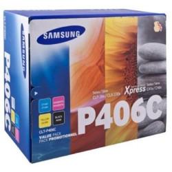 Samsung CLT-406S Color Toner Cartridge Value Pack
