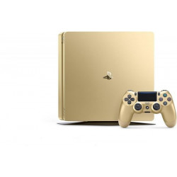 Sony PlayStation 4 Slim - 1TB, 1 Controller, Gold