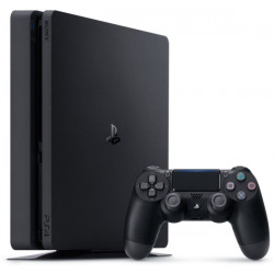 Sony PlayStation 4 Slim - 500GB, 1 Controller, Black