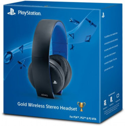 Sony Gold Wireless Stereo Headset for PlayStation