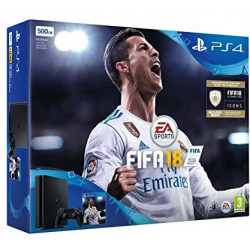 Sony PlayStation 4 Slim 500GB With FIFA 18 (PS4)