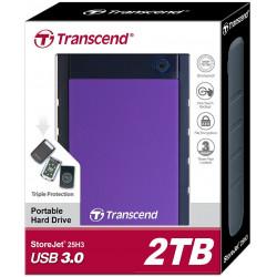 Transcend 2TB StoreJet Portable Hard Drive