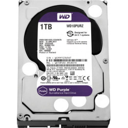 "WD  1TB Surveillance Hard Disk Drive 3.5"""" Sata (purple)"