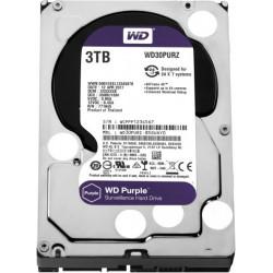 "WD  3TB Surveillance Hard Disk Drive 3.5"""" Sata (Purple)"