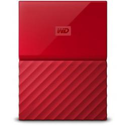 Western Digital 1TB My Passport  Portable External Hard Drive USB 3.0 (Red)