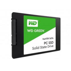 """WD Green 240GB SATA III 6Gb/s 2.5"""" 7mm Internal SSD -WDS240G2G0A"""
