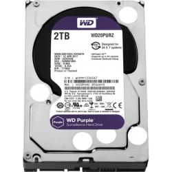 """WD Purple 2TB Surveillance Hard Disk Drive 3.5"""""""" Sata WD20PURZ"""