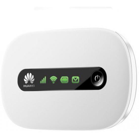 Huawei 21.6Mbps 3G Mobile Wifi (White)