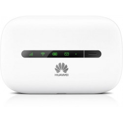 Huawei 21 Mbps 3G Mobile WiFi (White)