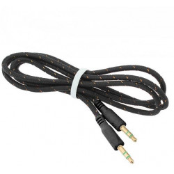 3.5mm To 3.5 mm Audio Aux Cable, MP3, iphone, ipad, ipod, Samsung, Sony, Htc, Universal (BL-06)