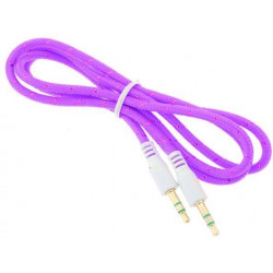 3.5mm To 3.5 mm Audio Aux Cable, MP3, iphone, ipad, ipod, Samsung, Sony, Htc, Universal (PRP-06)