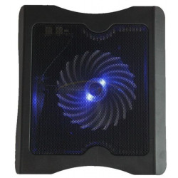 2 USB Port Cooling Cooler One Fan Pad Stand for Laptop Notebook PC And Macbook With LED Light