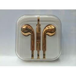 Golden Headphones for Apple