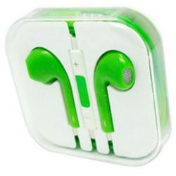 Earphones Headphones With Remote Mic Volume Controls For Apple ( Green )