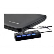 High Speed Mini 4 Port USB Hub USB 2.0 Hub